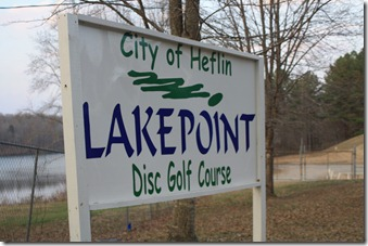 Disc Golf Course in Heflin, Alabama