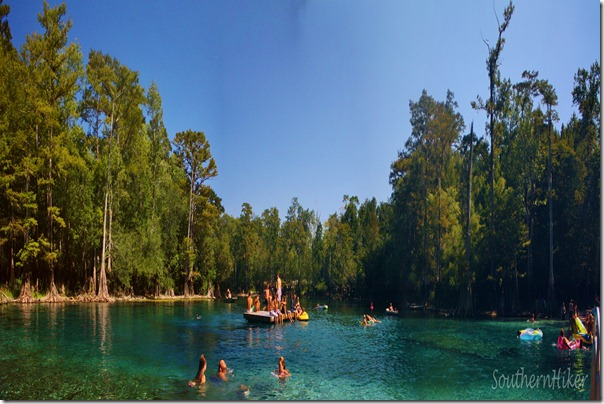 Morrison Springs-A perfect swimming hole on Florida's panhandle